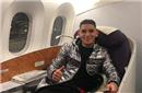 乌拉圭国脚乘机飞往中国 随队一起征战中国杯