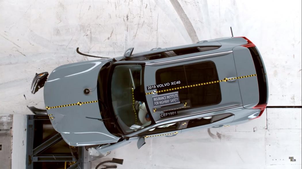 新款沃尔沃XC40获美国IIHS最高安全评级
