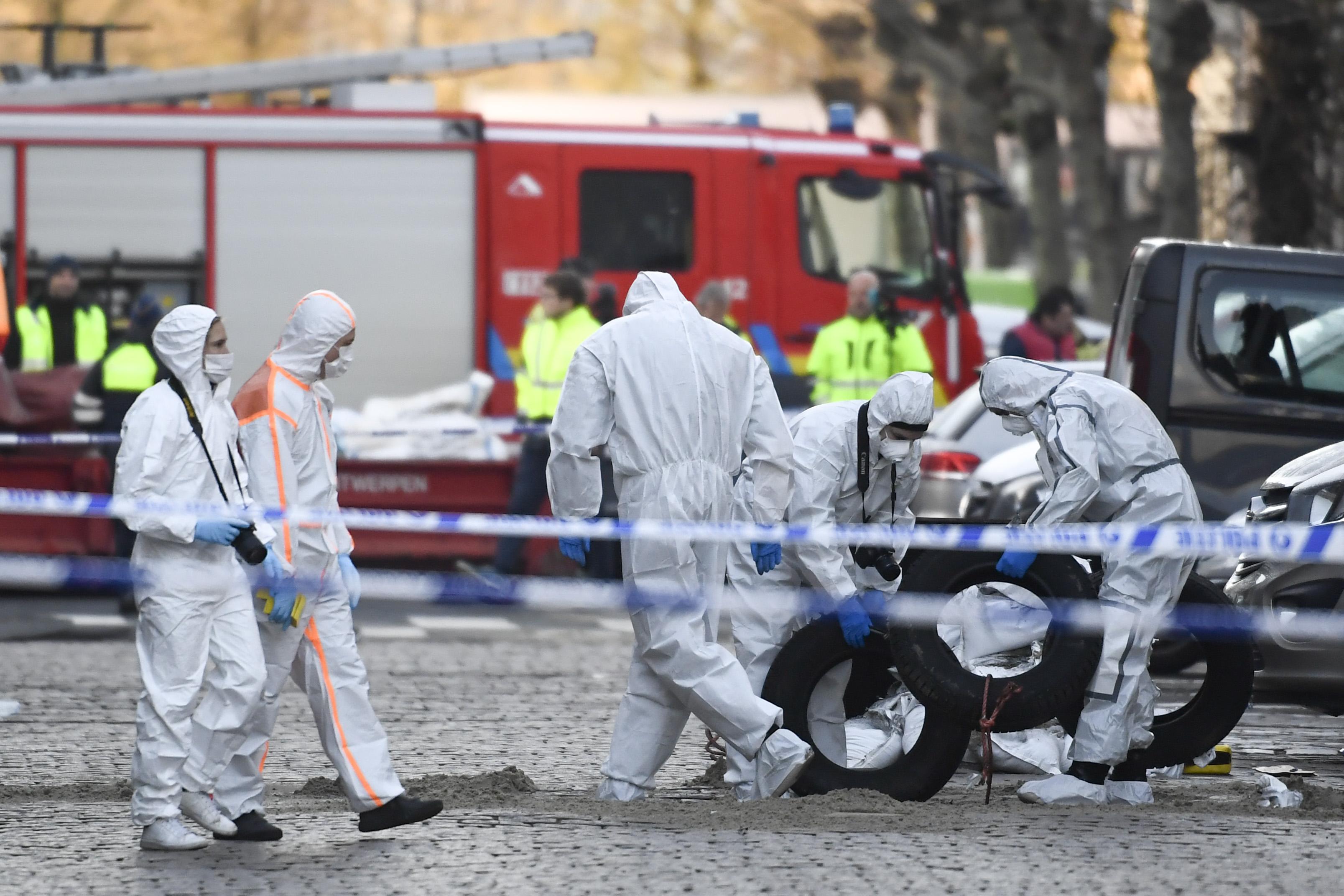 比利时安特卫普发生爆炸 原因尚且不详