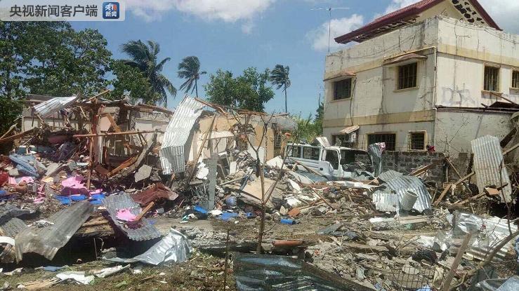 菲律宾八打雁省发生爆炸事故 致2人死亡