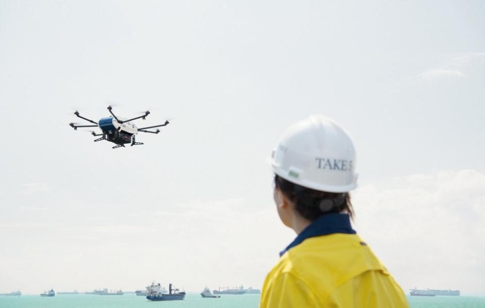 空中客车Skyways无人机为海上船舶运送了首批包裹