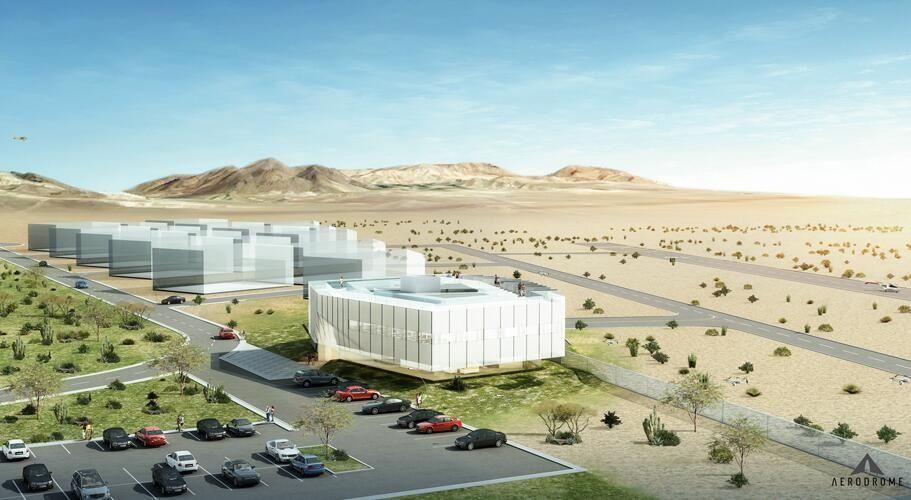 美国第一个商用无人机机场开建 用来做什么?