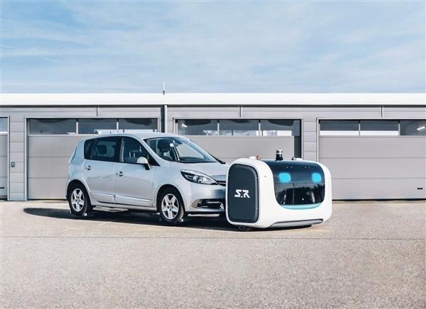 法国一机场用机器人帮忙停车 找车位不再难