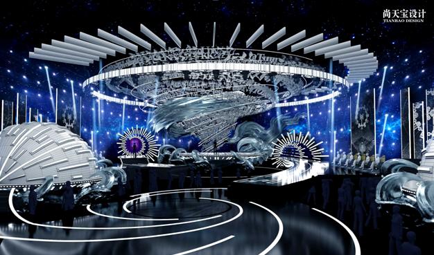 《即刻电音》终极舞台揭晓 尚天宝打造中国风舞美席卷全球