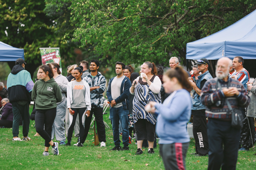 新西兰枪击事件震动华社 多族裔居民参与祈福