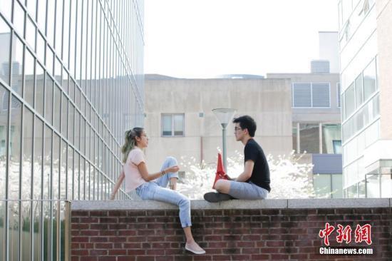 资料图:美国费城宾夕法尼亚大学校园。中新社记者 廖攀 摄
