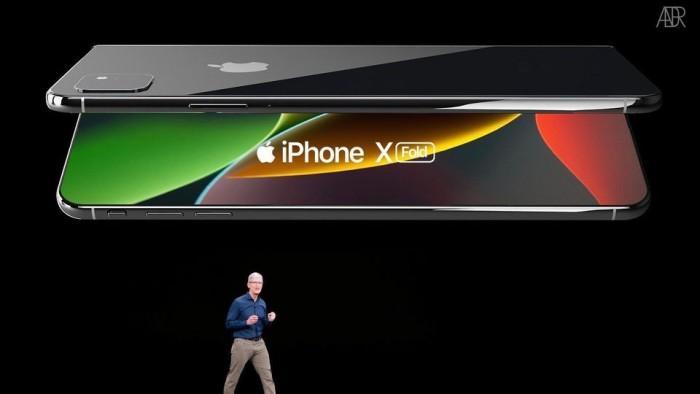 可折叠iPhone长这样?iPhone X Fold概念欣赏