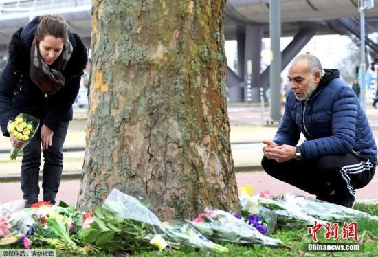 荷兰电车枪击案致多人死伤 警方又逮捕两名嫌犯