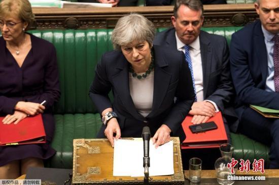 英国下议院议长:相同脱欧协议不能再进行投票表决