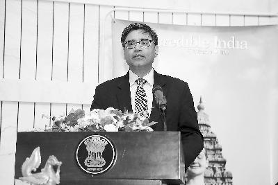 印度驻华大使唐勇胜接受《环球时报》专访:印中在南亚地区不存在对抗
