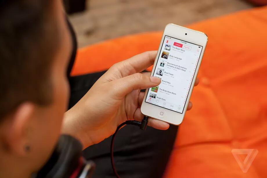 曝苹果即将发布第七代iPod Touch