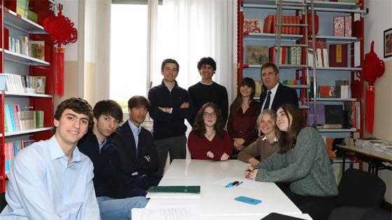 意大利学生:习主席告诉我们,年轻人要有梦想