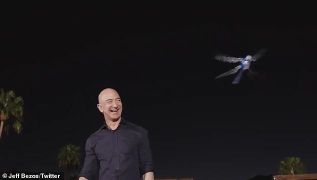 亚马逊在棕榈泉秘密举办大会 放飞机器蜻蜓