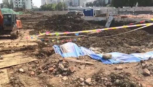 南昌一工地疑似挖出明代古墓
