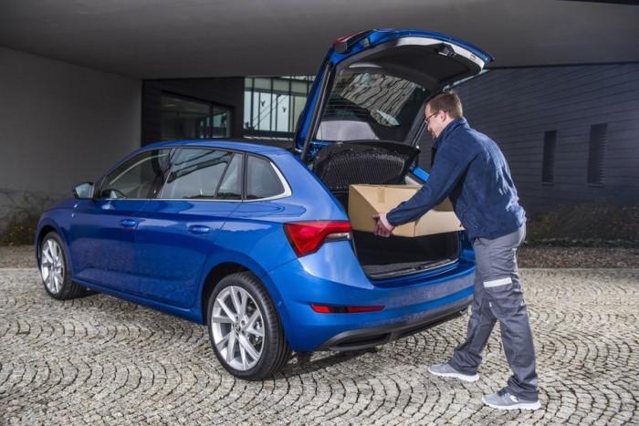 斯柯达测试车载包裹交付系统 将车变成移动快递柜