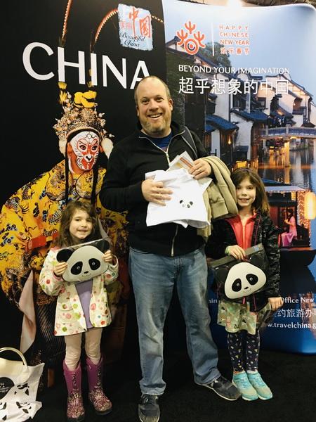 """中国旅游亮相费城旅游与冒险展  展现""""超乎想象的中国"""""""
