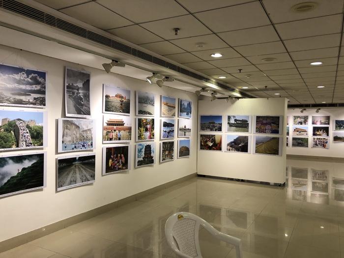 """""""中国文化、旅游摄影比赛""""获奖作品展亮相印度新德里"""