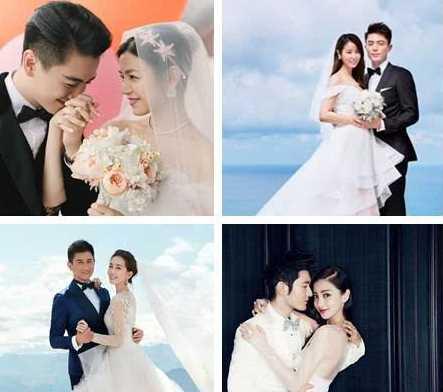 女星为戏第一次穿婚纱,赵丽颖清新,刘亦菲高贵