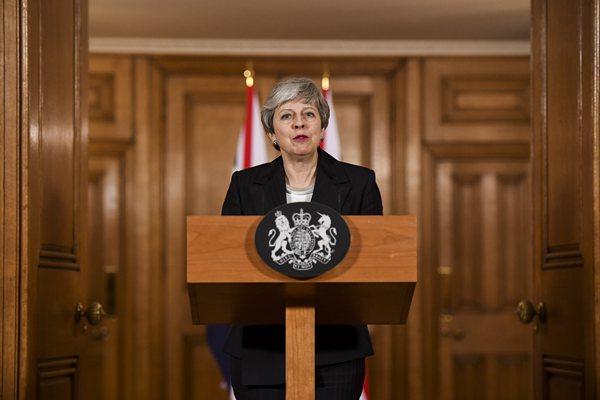特雷莎·梅发表全国讲话 确认已申请延长脱欧期限至6月30日
