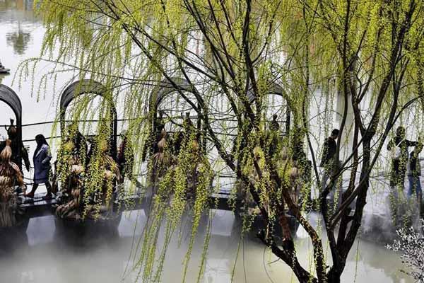 """陕西汉中:春意盎然的""""西北小江南"""""""