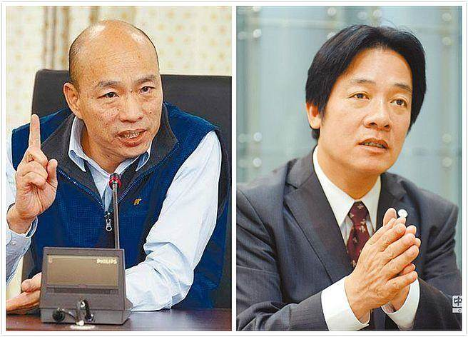"""赖清德参选2020 韩国瑜:""""台独""""比梅毒还可怕"""