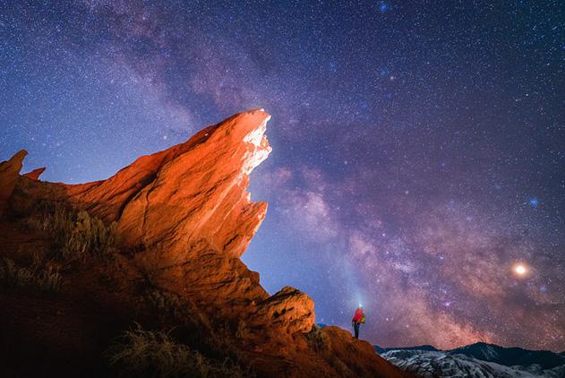 全球顶尖星空摄影师拍摄壮观银河 精美绝伦