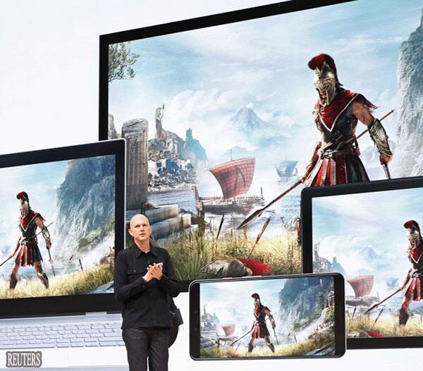 挑战任天堂和索尼 谷歌将涉足云游戏业务