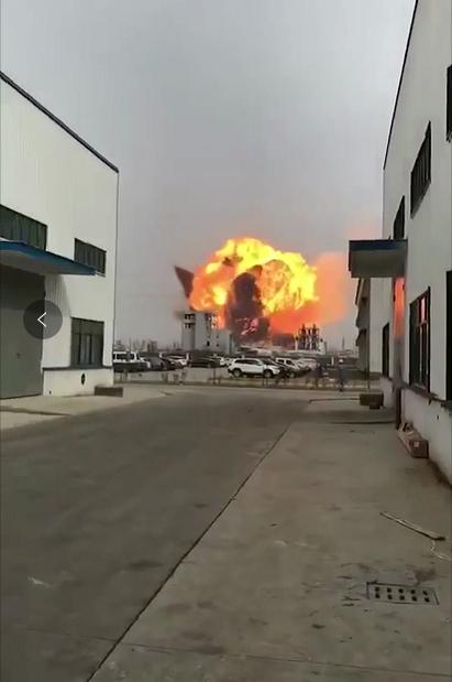 江苏天嘉宜化工厂发生苯爆炸 县医院已接收伤员