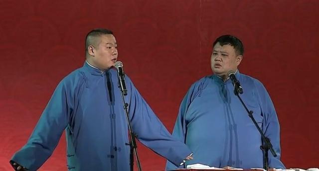 岳云鹏揭自己长胖的原因,看见孙越就觉得自己帅