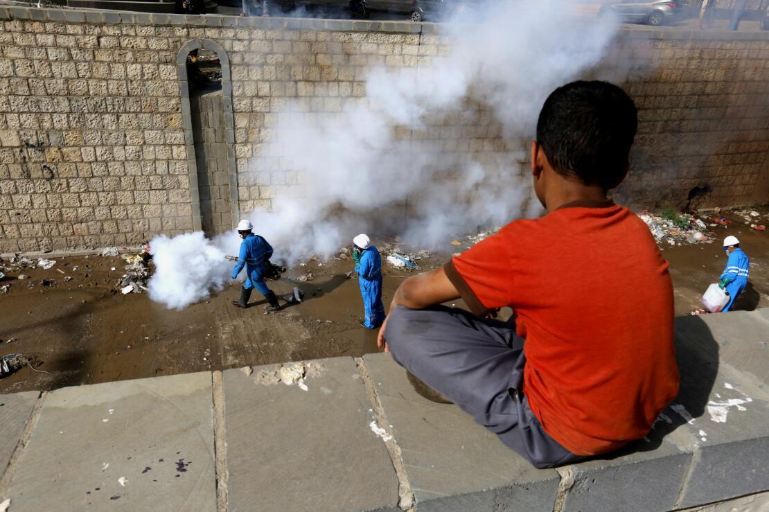 也门出现新一轮霍乱疫情 已致166人死