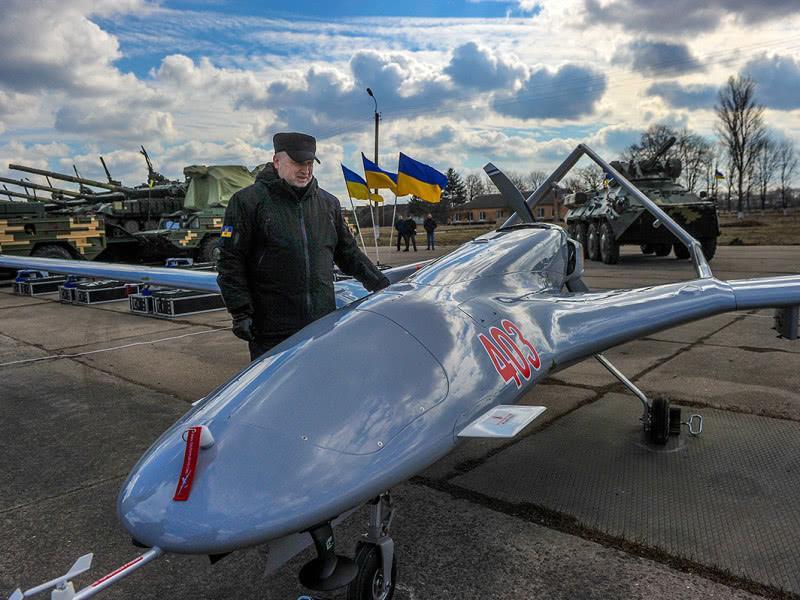 乌克兰成功测试从土耳其购买的攻击型无人机