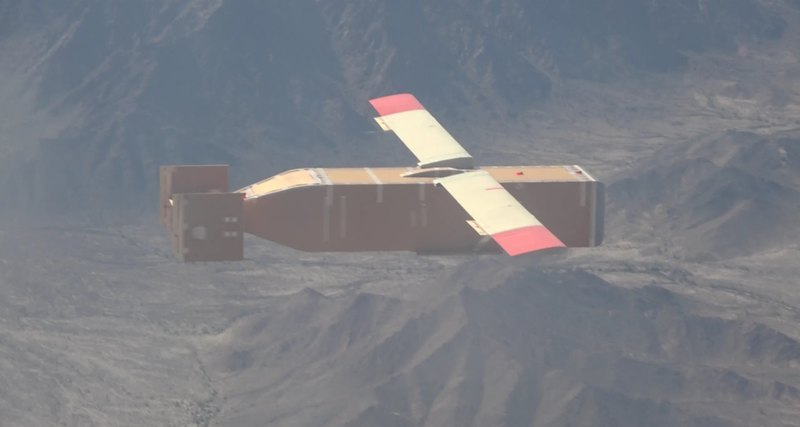 飞行的空投箱:美国滑翔后勤无人机亮相