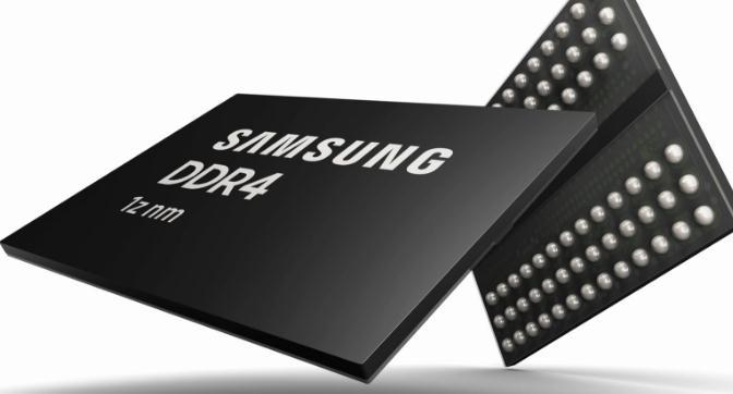 三星研发首款10纳米第三代高性能DDR4 DRAM
