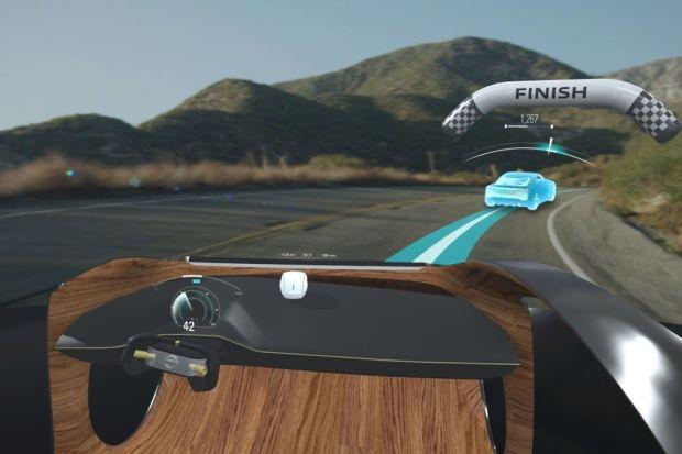 将来汽车或将内置日产I2V有形可视化技能