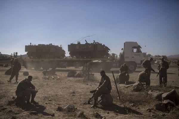 """特朗普称美国应承认以色列对戈兰高地的""""主权"""""""