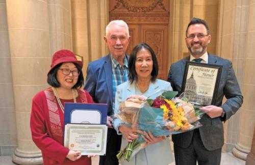 永利国际现金平台:美国旧金山表彰杰出女性 两位华裔女子获殊荣