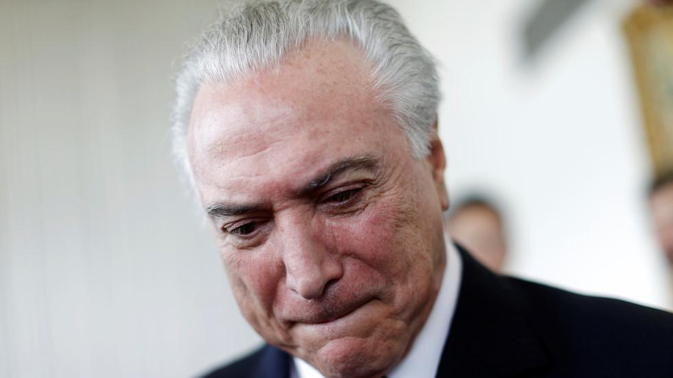 外媒:巴西前总统涉腐败被捕 成该国第二位入狱总统