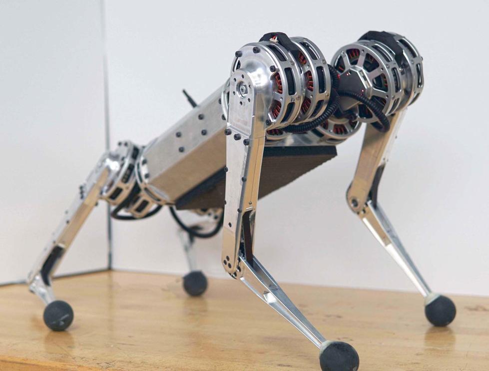麻省理工学院研发迷你猎豹机器人