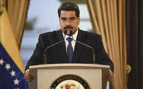 美宣布制裁委内瑞拉一国有银行