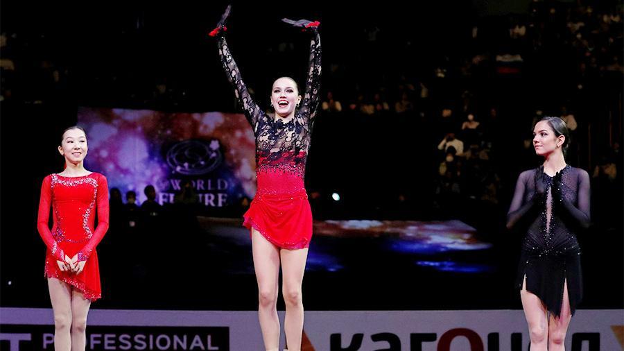 俄罗斯花滑名将世锦赛夺冠 普京称赞:好样的!