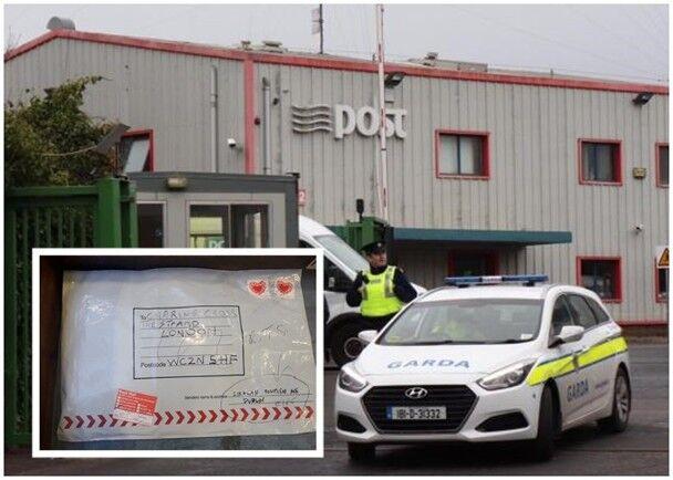 """爱尔兰一邮政仓库惊现包裹炸弹 与英国伦敦可疑包裹""""相同"""""""