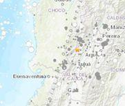 哥伦比亚发生6.1级地震