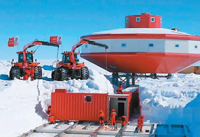 中国三大冰雪基建闪耀南极