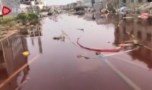 记者走进响水化工企业爆炸核心区