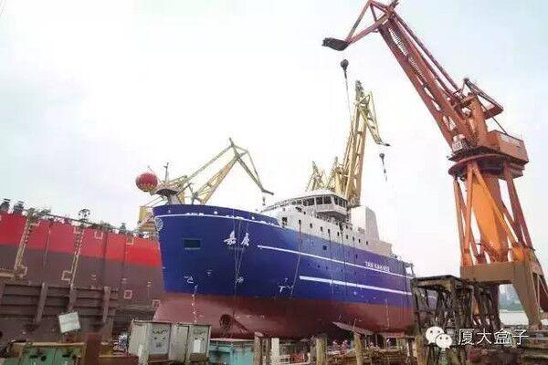中国调查船在冲之鸟礁附近航行,遭日本无理抗议