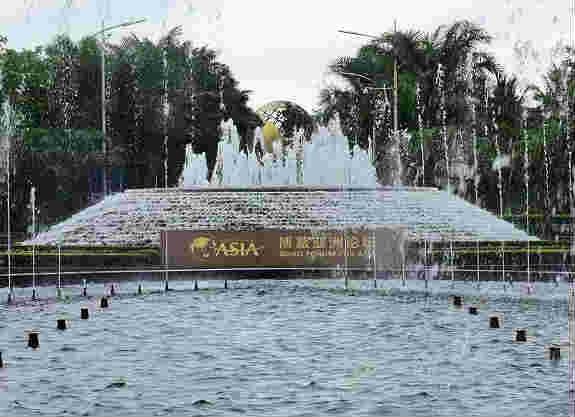 海南琼海:博鳌亚洲论坛2019年年会准备就绪