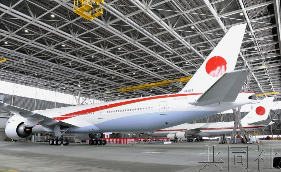 日本政府专机举行交接仪式,波音747旧专机本月底将退役