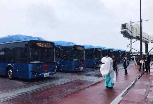 比亚迪纯电动巴士登岸日本 为东京奥运会做预备