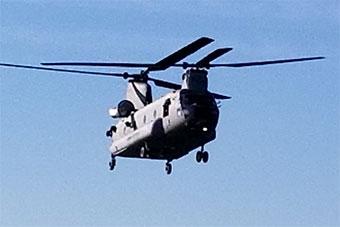 印度接收CH47F直升机 将部署到昌迪加尔
