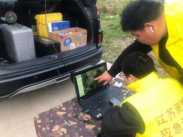 卫星无人机对准江苏响水 自然资源部紧急部署应急测绘救灾